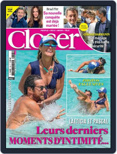 Closer France September 4th, 2020 Digital Back Issue Cover