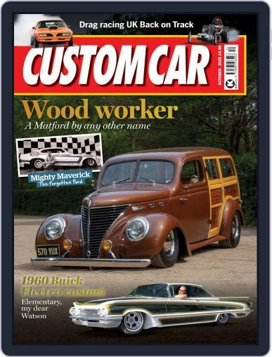Custom Car October 1st, 2020 Digital Back Issue Cover