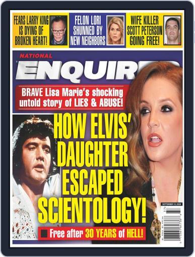 National Enquirer September 14th, 2020 Digital Back Issue Cover