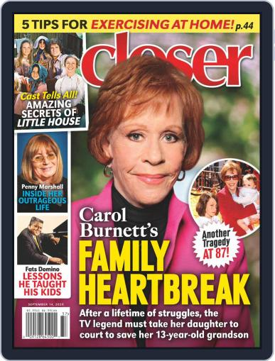 Closer Weekly September 14th, 2020 Digital Back Issue Cover