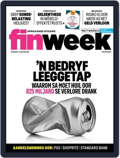 Finweek - Afrikaans September 10th, 2020 Digital Back Issue Cover