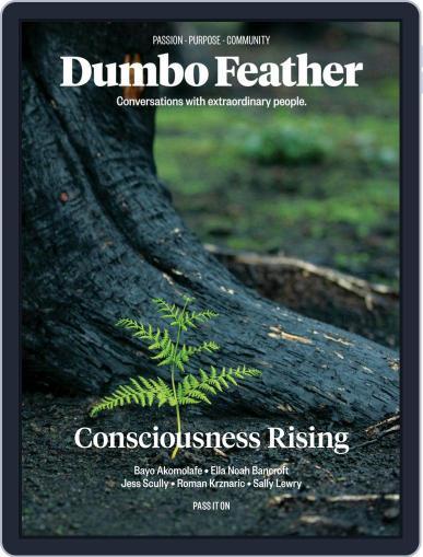 Dumbo Feather September 1st, 2020 Digital Back Issue Cover