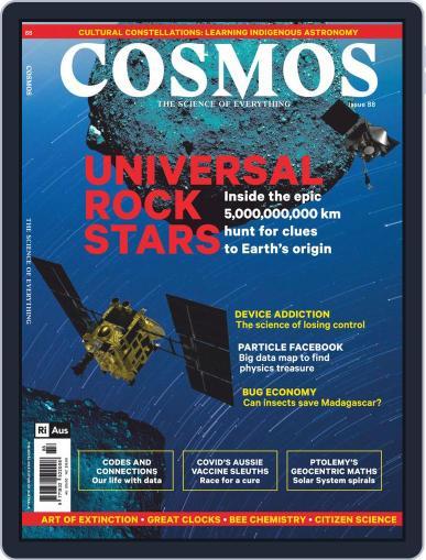 Cosmos September 1st, 2020 Digital Back Issue Cover