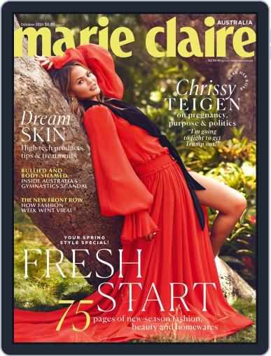Marie Claire Australia October 1st, 2020 Digital Back Issue Cover
