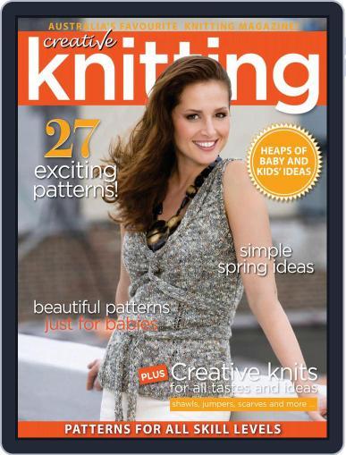 Creative Knitting September 1st, 2020 Digital Back Issue Cover