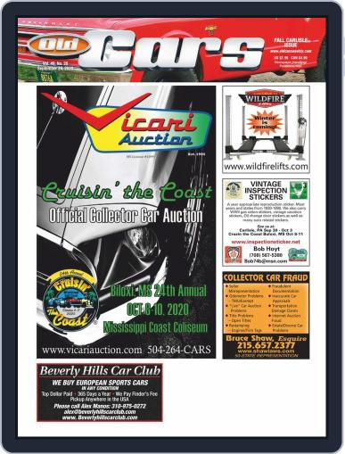 Old Cars Weekly September 24th, 2020 Digital Back Issue Cover