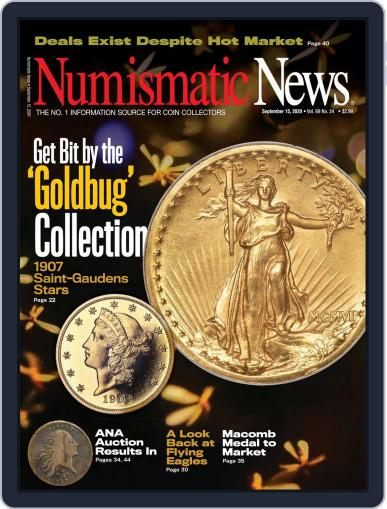 Numismatic News September 15th, 2020 Digital Back Issue Cover