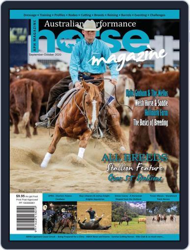 Australian Performance Horse September 1st, 2020 Digital Back Issue Cover