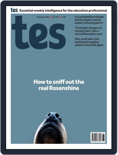 Tes September 4th, 2020 Digital Back Issue Cover