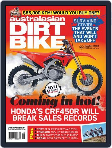 Australasian Dirt Bike October 1st, 2020 Digital Back Issue Cover