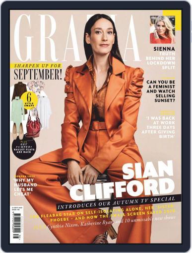 Grazia September 21st, 2020 Digital Back Issue Cover