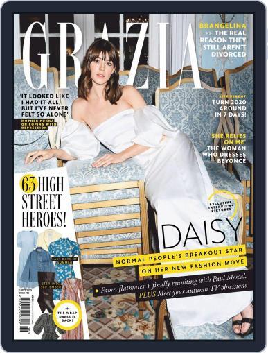 Grazia September 7th, 2020 Digital Back Issue Cover