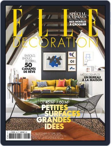 Elle Décoration France September 1st, 2020 Digital Back Issue Cover