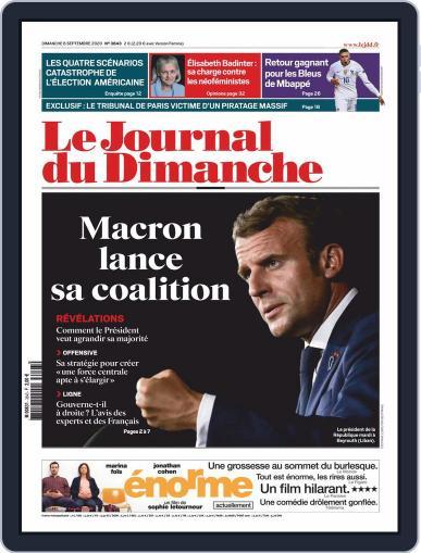 Le Journal du dimanche September 6th, 2020 Digital Back Issue Cover