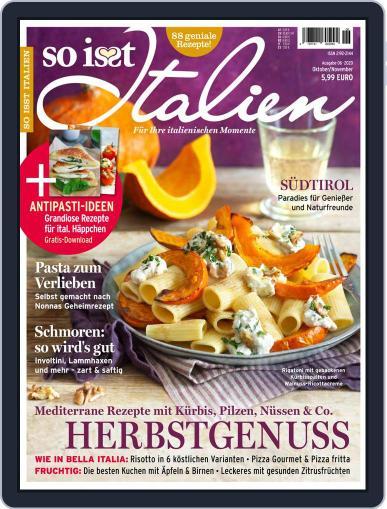 So is(s)t Italien September 1st, 2020 Digital Back Issue Cover