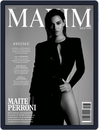 Maxim México (Digital) August 1st, 2020 Issue Cover