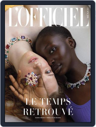 L'Officiel Mexico (Digital) September 1st, 2020 Issue Cover