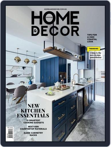 Home & Decor September 1st, 2020 Digital Back Issue Cover