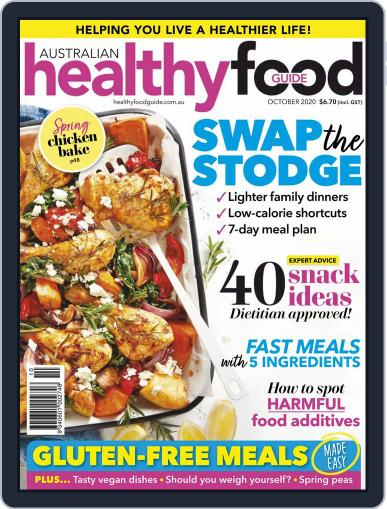 Healthy Food Guide October 1st, 2020 Digital Back Issue Cover