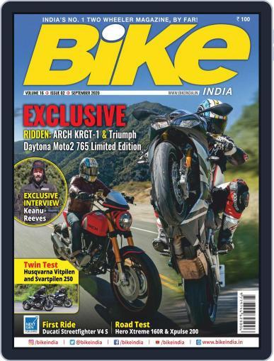 BIKE India September 1st, 2020 Digital Back Issue Cover
