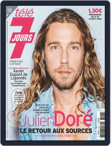 Télé 7 Jours September 18th, 2020 Digital Back Issue Cover
