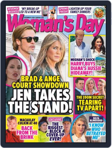 Woman's Day Magazine NZ September 14th, 2020 Digital Back Issue Cover