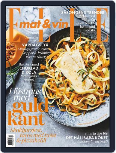 Elle Mat & Vin September 1st, 2020 Digital Back Issue Cover