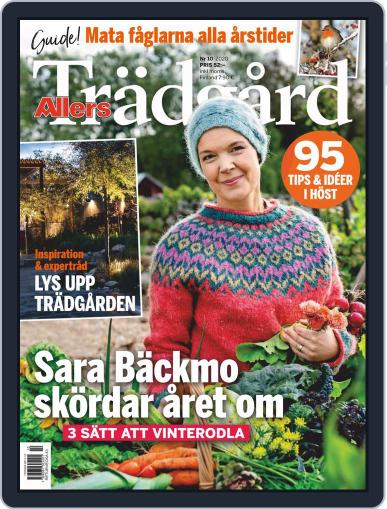 Allers Trädgård October 1st, 2020 Digital Back Issue Cover