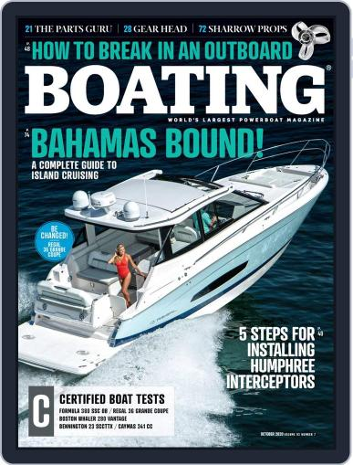 Boating October 1st, 2020 Digital Back Issue Cover