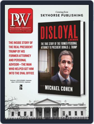 Publishers Weekly September 7th, 2020 Digital Back Issue Cover