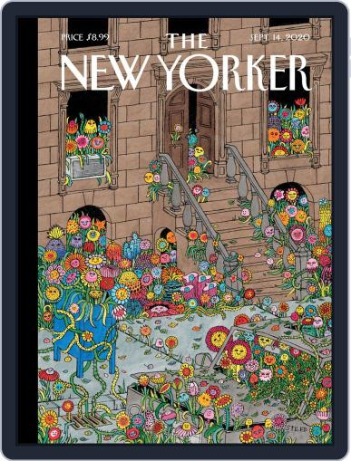 The New Yorker September 14th, 2020 Digital Back Issue Cover