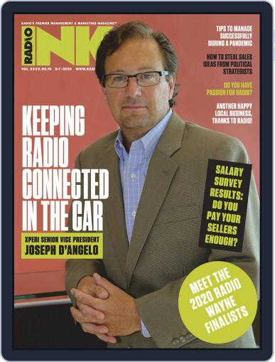 Radio Ink September 7th, 2020 Digital Back Issue Cover
