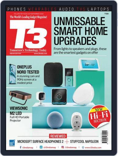 T3 India September 1st, 2020 Digital Back Issue Cover