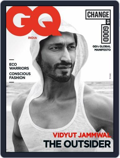 GQ India September 1st, 2020 Digital Back Issue Cover