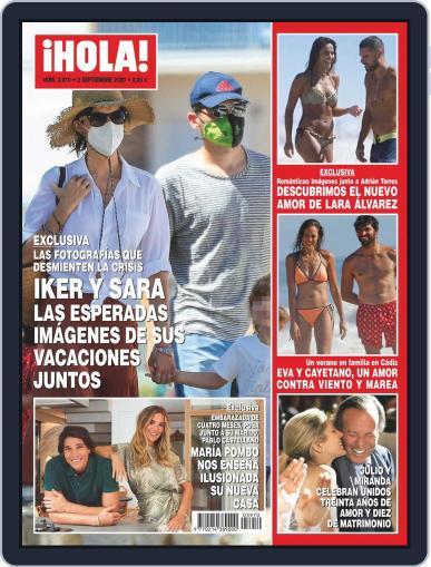 Hola (Digital) September 2nd, 2020 Issue Cover