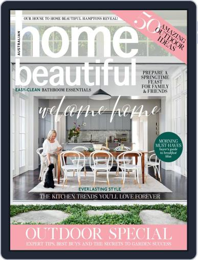 Australian Home Beautiful October 1st, 2020 Digital Back Issue Cover
