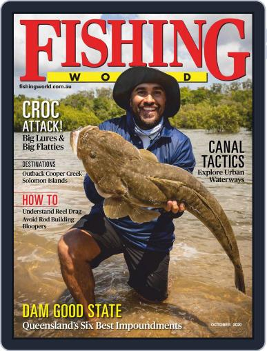 Fishing World October 1st, 2020 Digital Back Issue Cover