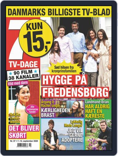 7 TV-Dage September 7th, 2020 Digital Back Issue Cover