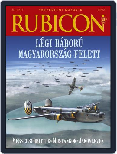 Rubicon Történelmi Magazin September 1st, 2020 Digital Back Issue Cover