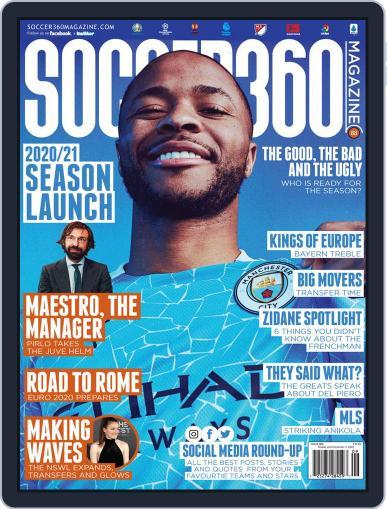 Soccer 360 September 1st, 2020 Digital Back Issue Cover