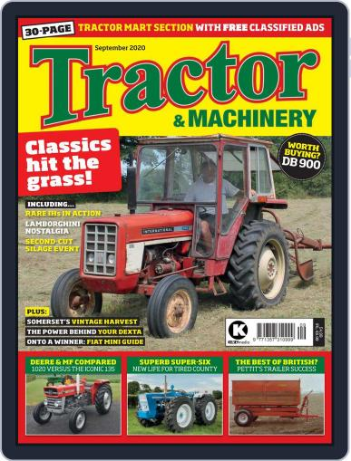Tractor & Machinery September 1st, 2020 Digital Back Issue Cover