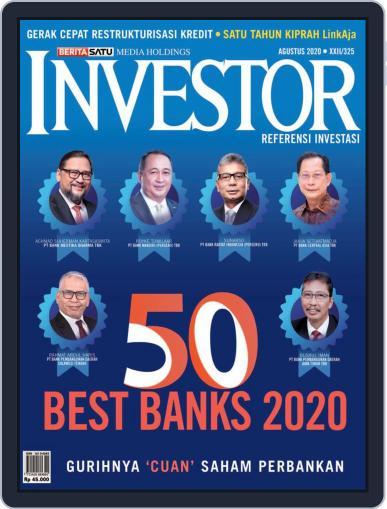 Majalah Investor August 1st, 2020 Digital Back Issue Cover