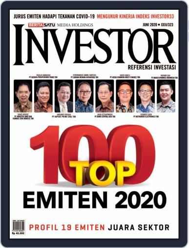 Majalah Investor June 1st, 2020 Digital Back Issue Cover
