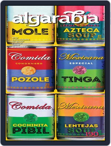 Algarabía September 1st, 2020 Digital Back Issue Cover