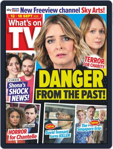 What's on TV September 12th, 2020 Digital Back Issue Cover