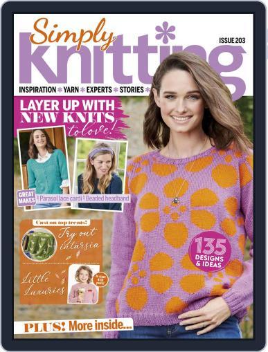 Simply Knitting November 1st, 2020 Digital Back Issue Cover