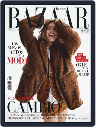 Harper's Bazaar España September 1st, 2020 Digital Back Issue Cover