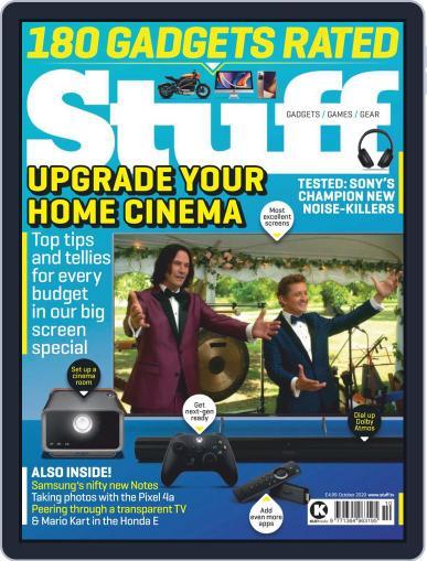 Stuff UK October 1st, 2020 Digital Back Issue Cover