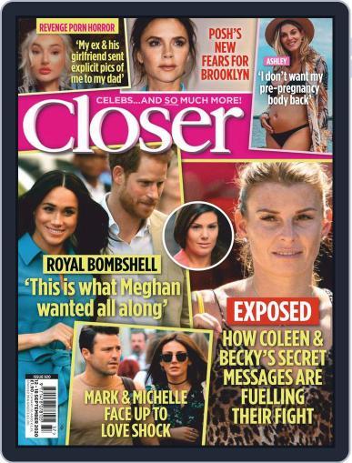 Closer September 12th, 2020 Digital Back Issue Cover