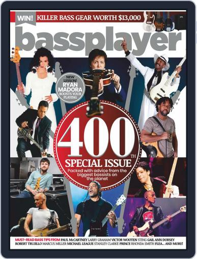Bass Player September 15th, 2020 Digital Back Issue Cover